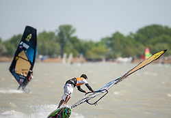 29.04.2012, Burgenland, Neusiedler See, Podersdorf, AUT, PWA, Surf Worldcup, im Bild Tonky Frans // during surfworldcup at podersdorf, EXPA Pictures © 2012, PhotoCredit: EXPA/ M. Kuhnke