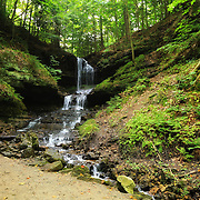 """""""Horseshoe Falls"""" 2<br /> <br /> Horseshoe Falls in Munising Michigan."""