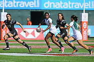 DUBAI, UNITED ARAB EMIRATES - Thursdays 30 November 2017, Veroeshka Grain of South Africa during HSBC Emirates Airline Dubai Rugby Sevens match between South Africa and New Zealand at The Sevens Stadium in Dubai.<br /> Photo by Roger Sedres/ImageSA