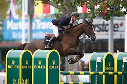 Duguet Romain, (FRA), Quorida de Treho <br /> CP International Grand Prix presented by Rolex<br /> Spruce Meadows Masters - Calgary 2015<br /> © Hippo Foto - Dirk Caremans<br /> 13/09/15