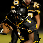 Topsail's Tyrekus Cooper rushes against Jacksonville. (Jason A. Frizzelle)