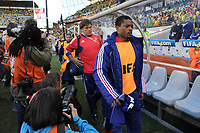 FOOTBALL - FIFA WORLD CUP 2010 - GROUP STAGE - GROUP A - FRANCE v SOUTH AFRICA - 22/06/2010 - PHOTO FRANCK FAUGERE / DPPI - PATRICE EVRA (FRA)