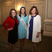 Meg Lammert, Miss Missouri Erin O'Flaherty, Rachel Forst