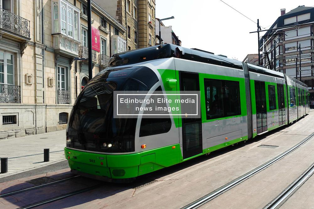 Tram in Vitoria Gasteiz, Spain<br /> <br /> (c) Andrew Wilson | Edinburgh Elite media