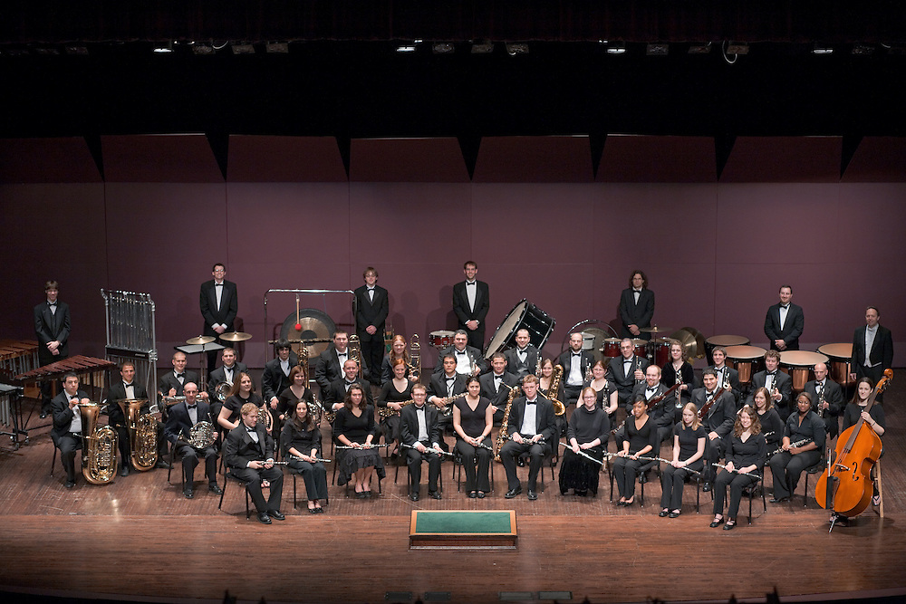 17668Ohio University Wind Ensemble Group Portrait & Candids Photos by Michael Rubenstein