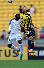 Wellington-Football, A-League, Phoenix v Gold Coast United FC