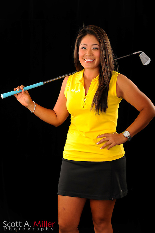 Jenny Suh during a portrait shoot prior to the Symetra Tour's Florida's Natural Charity Classic at the Lake Region Yacht and Country Club on March 21, 2012 in Winter Haven, Fla. <br /> <br /> &copy;2012 Scott A. Miller