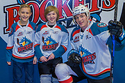 KELOWNA, CANADA - FEBRUARY 23:  Pepsi Player of the Game with Jack Cowell #8 of the Kelowna Rockets at the Kelowna Rockets game on February 23, 2018 at Prospera Place in Kelowna, British Columbia, Canada.  (Photo By Cindy Rogers/Nyasa Photography,  *** Local Caption ***