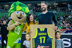 Sasa Zagorac during basketball match between National teams of Slovenia and Latvia in Round #10 of FIBA Basketball World Cup 2019 European Qualifiers, on December 2, 2018 in Arena Stozice, Ljubljana, Slovenia. Photo by Grega Valancic