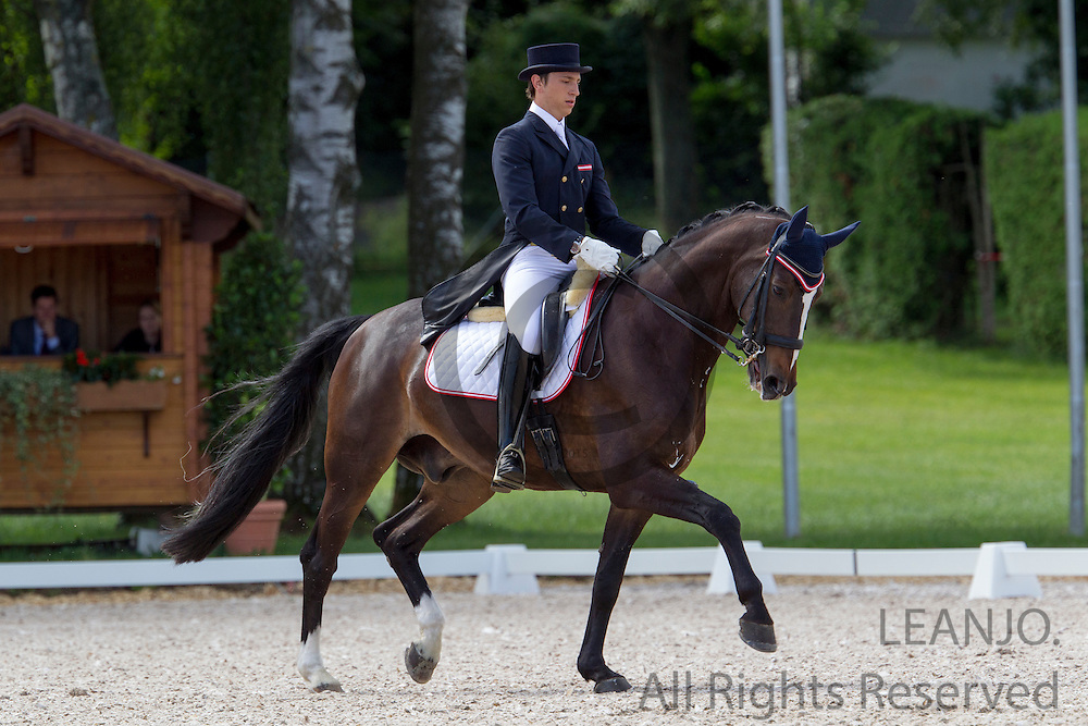Oliver Valenta - Valenta's Rivel<br /> FEI European Championships Dressage Juniors and Young Riders 2012<br /> © DigiShots