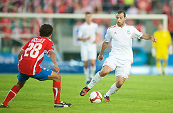 OSLO, NORWAY - Wednesday, August 5, 2009: Liverpool's Javier Mascherano in action against FC Lyn Oslo during a preseason match at the Bislett Stadion. (Pic by David Rawcliffe/Propaganda)