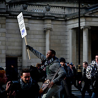 Student Protests - London