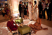 PERFORMANCE BY NEMONIE CRAVEN; SOPHIE HUNTER, The Quintessentially and Perrier-Jou't Summer Party at The Orangery at Kensington Palace. London. 18 June 2009<br /> PERFORMANCE BY NEMONIE CRAVEN; SOPHIE HUNTER, The Quintessentially and Perrier-Jouët Summer Party at The Orangery at Kensington Palace. London. 18 June 2009