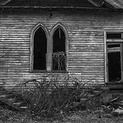 Abandoned Church. West Virginia.