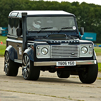 2006 Land Rover Defender 90, The 2009 World's Fastest Land Rover competition, Bruntingthorpe test track