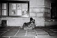 Rue de Bretagne couple, Paris