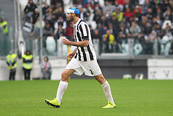 November 5, 2017 - Turin, Italy - Giorgio Chiellini (Juventus FC)  during the Serie A football match between Juventus FC and Benevento Calcio on 05 November 2017 at Allianz Stadium in Turin, Italy. (Credit Image: © Massimiliano Ferraro/NurPhoto via ZUMA Press)