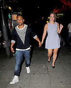 """27.JUNE.2011. LONDON<br /> <br /> JONATHAN """"JB"""" GILL AND GIRLFRIEND CHLOE TANGNEY AT THE O2 SHEPHERDS BUSH EMPIRE TO ATTEND AMERICAN SINGER BEYONCE'S SPECIAL ONE OFF GIG TO LAUNCH HER NEW ALBUM 4.<br /> <br /> BYLINE: EDBIMAGEARCHIVE.COM<br /> <br /> *THIS IMAGE IS STRICTLY FOR UK NEWSPAPERS AND MAGAZINES ONLY*<br /> *FOR WORLD WIDE SALES AND WEB USE PLEASE CONTACT EDBIMAGEARCHIVE - 0208 954 5968*"""