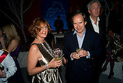 FRANCESCA VON HAPSBURG; SIMON DE PURY, Nicky Haslam party for Janet de Botton and to celebrate 25 years of his Design Company.  Parkstead House. Roehampton. London. 16 October 2008.  *** Local Caption *** -DO NOT ARCHIVE-© Copyright Photograph by Dafydd Jones. 248 Clapham Rd. London SW9 0PZ. Tel 0207 820 0771. www.dafjones.com.