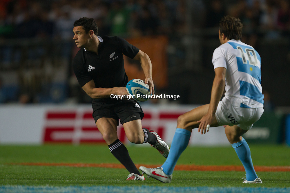 Daniel Carter, All Blacks against Argentina, Estadio Unico de La Plata, La Plata, The Rugby Championship, 29th September