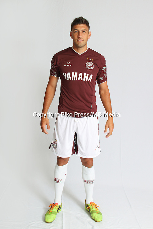 CAMPEONATO ARGENTINO Soccer / Football. <br /> LANUS Portraits <br /> Bs.As. Argentina. - March 12, 2015<br /> Here Lanus player Diego Braghieri<br /> &copy; PikoPress