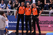 DESCRIZIONE : Trento Nazionale Italia Uomini Trentino Basket Cup Italia Belgio Italy Belgium<br /> GIOCATORE : Begnis Terreni Vicino<br /> CATEGORIA : arbitri<br /> SQUADRA : arbitri<br /> EVENTO : Trentino Basket Cup<br /> GARA : Italia Belgio Italy Belgium<br /> DATA : 12/07/2014<br /> SPORT : Pallacanestro<br /> AUTORE : Agenzia Ciamillo-Castoria/GiulioCiamillo<br /> Galleria : FIP Nazionali 2014<br /> Fotonotizia : Trento Nazionale Italia Uomini Trentino Basket Cup Italia Belgio Italy Belgium