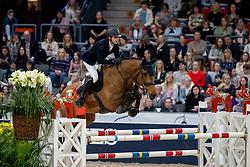 DEVOS Pieter (BEL), Flash<br /> Göteborg - Gothenburg Horse Show 2019 <br /> Gothenburg Trophy presented by VOLVO<br /> Int. jumping competition with jump-off (1.55 m)<br /> Longines FEI Jumping World Cup™ Final and FEI Dressage World Cup™ Final<br /> 06. April 2019<br /> © www.sportfotos-lafrentz.de/Stefan Lafrentz