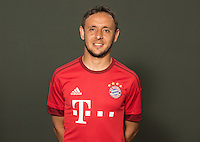 German Soccer Bundesliga 2015/16 - Photocall of FC Bayern Munich on 16 July 2015 in Munich, Germany: Rafinha