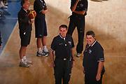 DESCRIZIONE : Bormio Raduno Collegiale Nazionale Maschile Preparazione Fisica <br /> GIOCATORE : Carlo Recalcati Mimmo Cacciuni <br /> SQUADRA : Nazionale Italia Uomini <br /> EVENTO : Raduno Collegiale Nazionale Maschile <br /> GARA : <br /> DATA : 19/07/2008 <br /> CATEGORIA : Riscaldamento <br /> SPORT : Pallacanestro <br /> AUTORE : Agenzia Ciamillo-Castoria/S.Silvestri <br /> Galleria : Fip Nazionali 2008 <br /> Fotonotizia : Bormio Raduno Collegiale Nazionale Maschile Preparazione Fisica <br /> Predefinita :