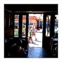 Ice Cream Cones, Palm Springs, CA. 4/1/09 (iPhone image)