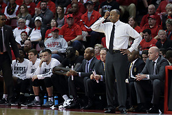 20 March 2017:  Johnny Dawkins during a College NIT (National Invitational Tournament) 2nd round mens basketball game between the UCF (University of Central Florida) Knights and Illinois State Redbirds in  Redbird Arena, Normal IL