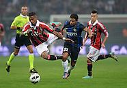 Fussball Serie A 2012/13: AC Mailand - Inter Mailand