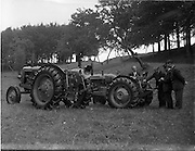 14/09/1957.09/14/1957.14 September 1957.Nuffield tractors at Booth Poole, Islandbridge.