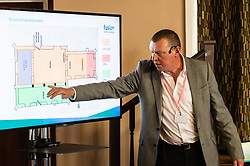 As part of their community engagement programme HS2 hold a Heritage Open Day - Exploring St Mary's - in Stoke Mandeville, Buckinghamshire, explaining to the community their archaeological endeavours ahead of construction of the high speed London to Birmingham railway line, which will be the largest construction project in Europe. Stoke Mandeville, September 09 2018.