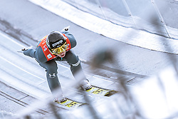 24.02.2019, Bergiselschanze, Innsbruck, AUT, FIS Weltmeisterschaften Ski Nordisch, Seefeld 2019, Skisprung, Herren, Teambewerb, Probesprung, im Bild Ziga Jelar (SLO) // Ziga Jelar of Slovenia during the trial jump for the men's skijumping team competition of FIS Nordic Ski World Championships 2019 at the Bergiselschanze in Innsbruck, Austria on 2019/02/24. EXPA Pictures © 2019, PhotoCredit: EXPA/ Dominik Angerer