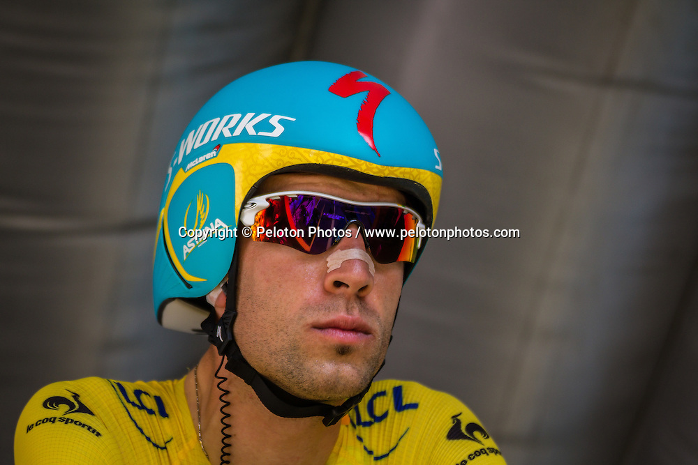 Vincenzo Nibali (ITA) of Astana Pro Team, Tour de France, Stage 20: Bergerac > Périgueux (ITT), UCI WorldTour, 2.UWT, Bergerac, France, 26th July 2014, Photo by Pim Nijland / PelotonPhotos.com