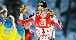 29.01.2017, Casino Arena, Seefeld, AUT, FIS Weltcup Nordische Kombination, Seefeld Triple, Langlauf, im Bild Mario Seidl (AUT) // Mario Seidl of Austria during Cross Country Gundersen Race of the FIS Nordic Combined World Cup Seefeld Triple at the Casino Arena in Seefeld, Austria on 2017/01/29. EXPA Pictures © 2017, PhotoCredit: EXPA/ JFK