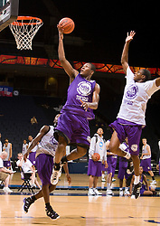 P/WF Jeronne Maymon (Madison, WI / Madison Memorial) hits a game winning basket in sudden death overtime.  The NBA Player's Association held their annual Top 100 basketball camp at the John Paul Jones Arena on the Grounds of the University of Virginia in Charlottesville, VA on June 20, 2008