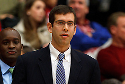 Dec 22, 2011; Stanford CA, USA;  Butler Bulldogs head coach Brad Stevens on the sidelines against the Stanford Cardinal during the first half at Maples Pavilion.  Mandatory Credit: Jason O. Watson-US PRESSWIRE