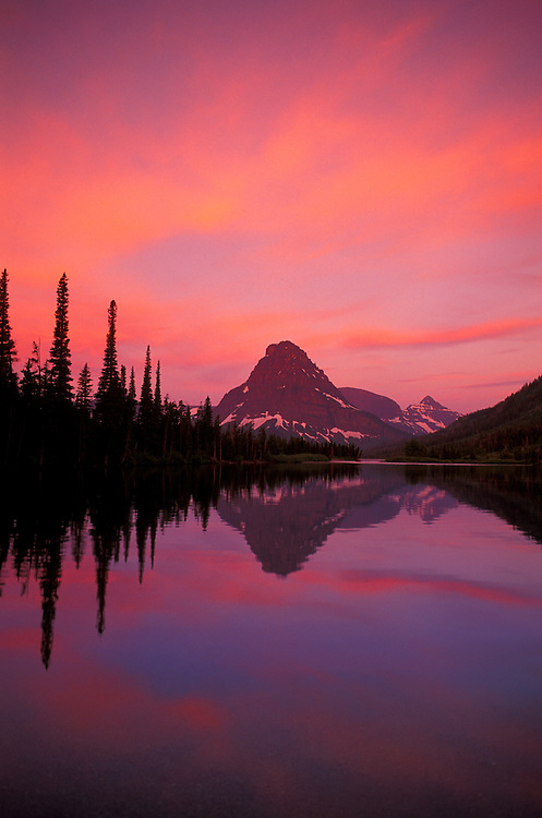 Two Medicine Lake, Glacier National Park, Montana, USA