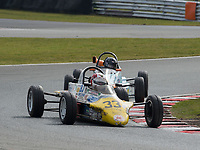 #33 Juiceie BRUCEIE Reynard FF84  during Avon Tyres Formula Ford 1600 Northern Championship - Pre 90 as part of the BRSCC Oulton Park Season Opener at Oulton Park, Little Budworth, Cheshire, United Kingdom. March 24 2018. World Copyright Peter Taylor/PSP.