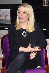 Louise Dearman attends Press Launch at The Prince Edward Theatre, London on Friday 3 April 2015. <br /> <br /> West End leading ladies Louise Dearman and Kerry Ellis announced that they will be joining forces for the first time, professionally, for a one off concert to be held on 27 September 2015 at the Prince Edward Theatre, London. The concert promises an evening of iconic duets and will feature a live band.
