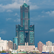 Kaohsiung Harbor and Jungshan University area, Kaohsiung City, Taiwan
