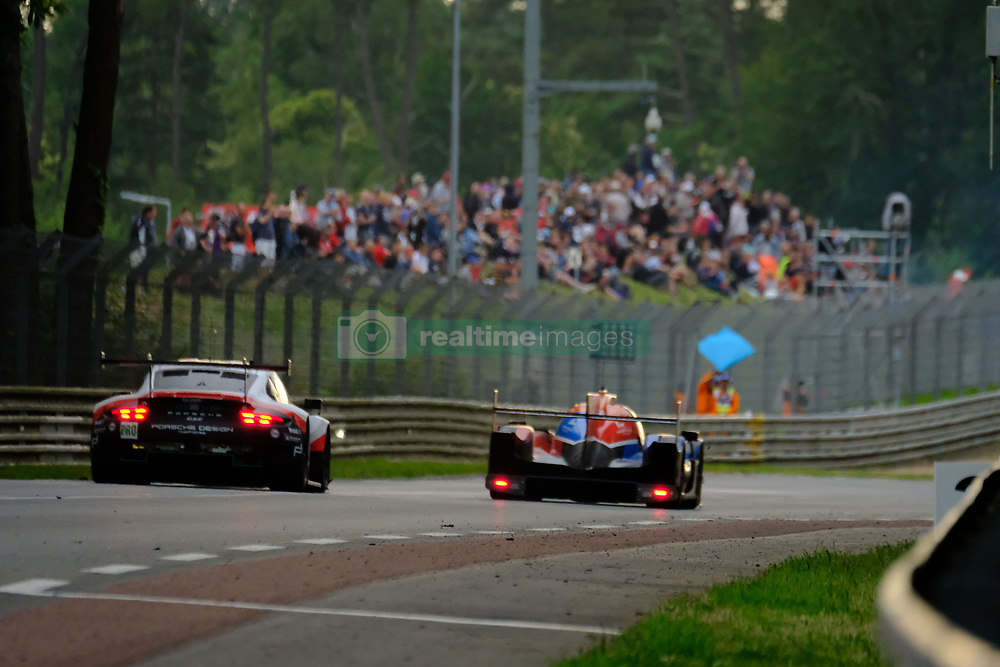 June 17, 2018 - Le Mans, Sarthe, France - SMP Racing DALLARA P217 Gibson Driver HARRISON NEWEY (GBR) in action during the 86th edition of the 24 hours of Le Mans 2nd round of the FIA World Endurance Championship at the Sarthe circuit at Le Mans - France (Credit Image: © Pierre Stevenin via ZUMA Wire)