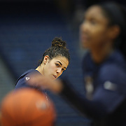 HARTFORD, CONNECTICUT- JANUARY 10: Kia Nurse #11 of the Connecticut Huskies during warm up with teammates before the the UConn Huskies Vs USF Bulls, NCAA Women's Basketball game on January 10th, 2017 at the XL Center, Hartford, Connecticut. (Photo by Tim Clayton/Corbis via Getty Images)