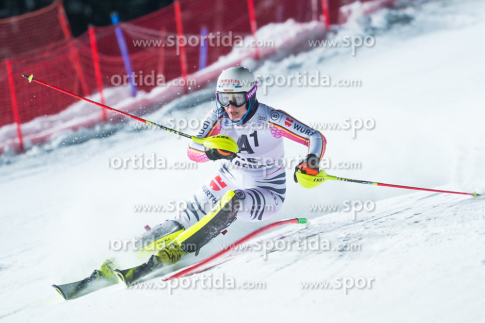 Marina Wallner (GER) during the 7th Ladies' Slalom of Audi FIS Ski World Cup 2016/17, on January 10, 2017 at the Hermann Maier Weltcupstrecke in Flachau, Austria. Photo by Martin Metelko / Sportida