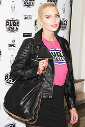 © Licensed to London News Pictures. 23/01/2014, UK. Helen Flanagan, Pure Rally - Launch Event, Avista Bar, London UK, 23 January 2014. Photo credit : Brett D. Cove/Piqtured/LNP