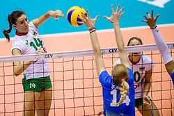 22-08-2017 NED: World Qualifications Slovenia - Bulgaria, Rotterdam<br /> Bulgaria win 3-1 against Slovenia / Emiliya Dimitrova #14 of Bulgaria