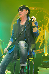 01.05.2014, Lancess Arena, Koeln, GER, Scorpions bei MTV Unplugged, im Bild Klaus Meine // Klaus Meine of the Scorpions performance live at MTV Unplugged at the Lancess Arena in Koeln, Germany on 2014/05/01. EXPA Pictures © 2014, PhotoCredit: EXPA/ Newspix/ Oliver Hausen<br /> <br /> *****ATTENTION - for AUT, SLO, CRO, SRB, BIH, MAZ, TUR, SUI, SWE only*****