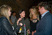 CLEMMIE FRASER; KIRSTY ALLSOP; JOSIE LINDHOP; JAKE GAVIN, Favela Descending. Gerry Fox.  Part of Concrete and Glass. Village Underground. Hollywell Lane.  London. 2 October 2008 *** Local Caption *** -DO NOT ARCHIVE-© Copyright Photograph by Dafydd Jones. 248 Clapham Rd. London SW9 0PZ. Tel 0207 820 0771. www.dafjones.com.